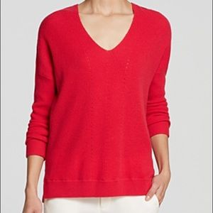 VINCE| VEE LAYOUT CASHMERE SWEATER